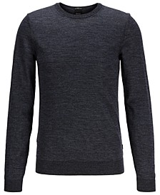 BOSS Men's Leno-P Crewneck Sweater