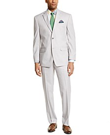 Men's Classic-Fit Light Gray Suit Separates