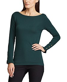 Stretch Cotton Sweater