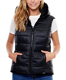 Freeform Reversible Hooded Vest