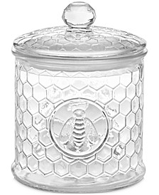 English Garden Small Honeycomb Canister, Created for Macy's