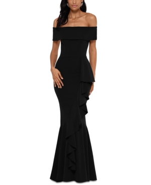 Off-The-Shoulder Mermaid Gown