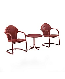 Tulip 3 Piece Metal Conversation Seating Set