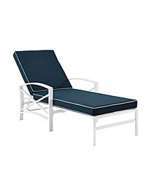 Kaplan Chaise Lounge Chair With Cushion Cover