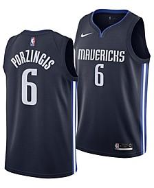 Men's Kristaps Porzingis Dallas Mavericks Statement Swingman Jersey