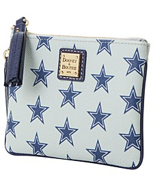 Dallas Cowboys Saffiano Stadium Wristlet