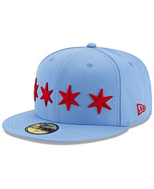 Chicago Bulls City Series 59FIFTY Fitted Cap