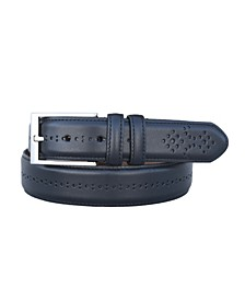 Men's Chancellor Full Grain Aniline Leather Dress Belt
