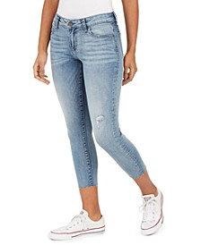 Connie Cropped Raw-Hem Skinny Jeans