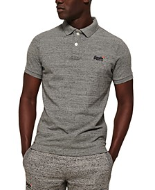Men's Classic-Fit Piqué Polo Shirt