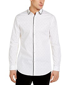 INC Men's Stretch Floral Shirt, Created for Macy's