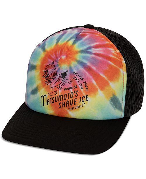 Hurley Matsumoto Shave Ice Tie Dye Hat