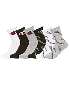 Little & Big Boys 6-Pk. Low-Cut Socks