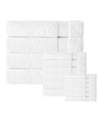 Kansas Turkish Cotton 16-Pc. Towel Set