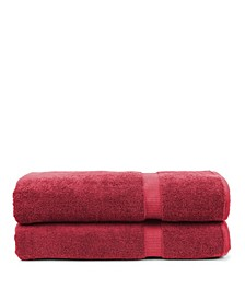 Luxury Hotel Spa Towel Turkish Bath Sheets, Set of 2
