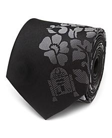 R2D2 Floral Men's Tie