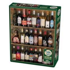Cobble Hill: Wine Alphabet 1000 Piece Jigsaw Puzzle