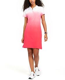 Ombré Polo Dress, Created for Macy's