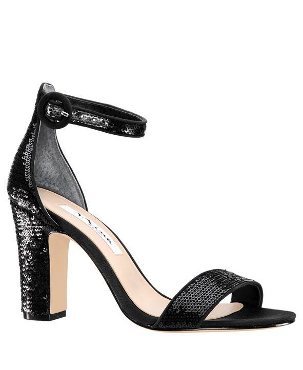 Nina Sianna High Block Heel Sandals