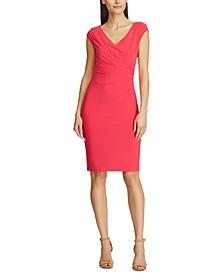 Jersey Dress Cowlneck