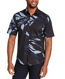 Men's Leaf Print Shirt, Created For Macy's
