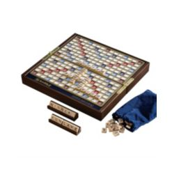 Winning Solutions Scrabble Deluxe Travel Board Game