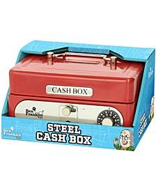 Ben Franklin Steel Cash Box
