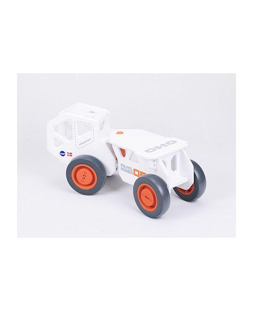 OHO Moover Toys Wooden Foot-To-Floor Mars Miner Wooden Truck