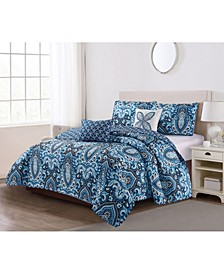 Felicity 5 Piece Quilt Set Full/Queen