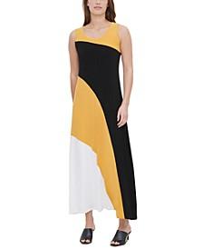 Colorblocked Sleeveless Dress