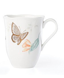 Butterfly Meadow Gold - 20th Anniversary Blue Butterfly Mug