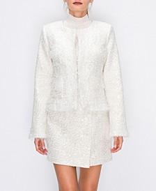 Embelished Tweed Jacket