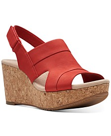 Collection Women's Annadel Ivory Wedge Sandals