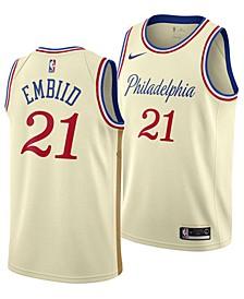 Men's Joel Embiid Philadelphia 76ers City Edition Swingman Jersey