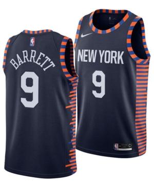 Nike Men's Rj Barrett New York Knicks City Edition Swingman Jersey