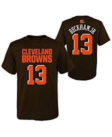 Big Boys Odell Beckham Jr. Cleveland Browns Mainliner Player T-Shirt