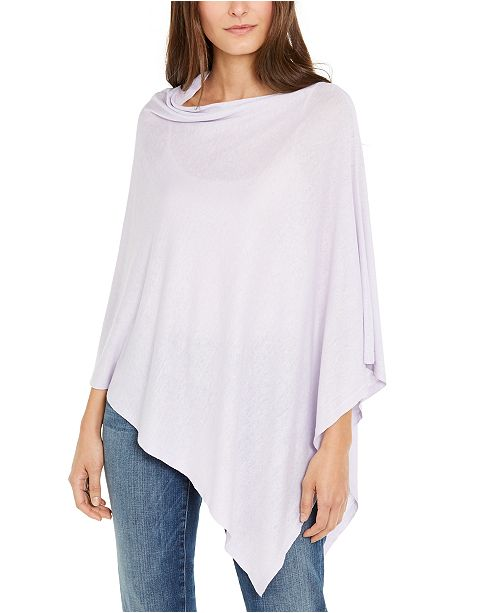Eileen Fisher Eileeen Fisher Boat-Neck Poncho