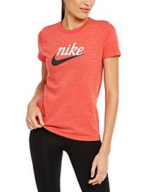 Women's Sportswear Cotton Varsity T-Shirt