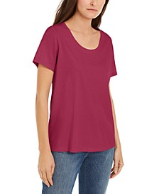 Organic Cotton Scoop-Neck T-Shirt