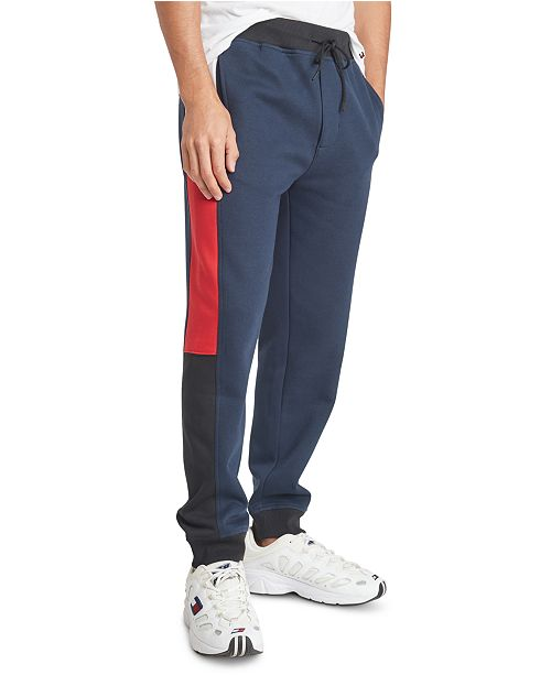 Tommy Hilfiger Men's Colorblocked Sweatpants