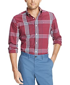 Men's Oscar Plaid Stretch Shirt