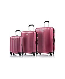 Rome Hardside 3-Pc. Luggage Set