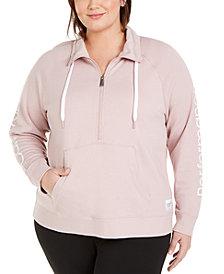 Calvin Klein Performance Plus Size Half-Zip Pullover