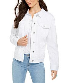 Style & Co Denim Trucker Jacket, Created for Macy's