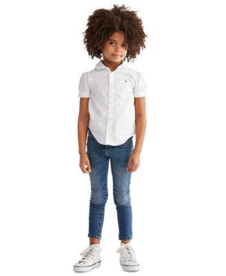 폴로 랄프로렌 여아용 셔츠 Polo Ralph Lauren Toddler Girls Solid Oxford Top