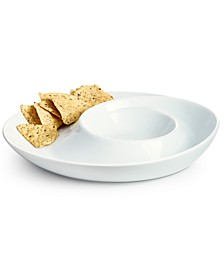 Whiteware Elevated Chip and Dip