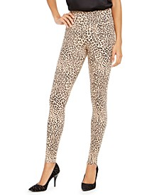 INC Leopard-Print Leggings, Created for Macy's