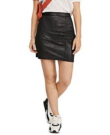 Rumi Ruched Mini Skirt