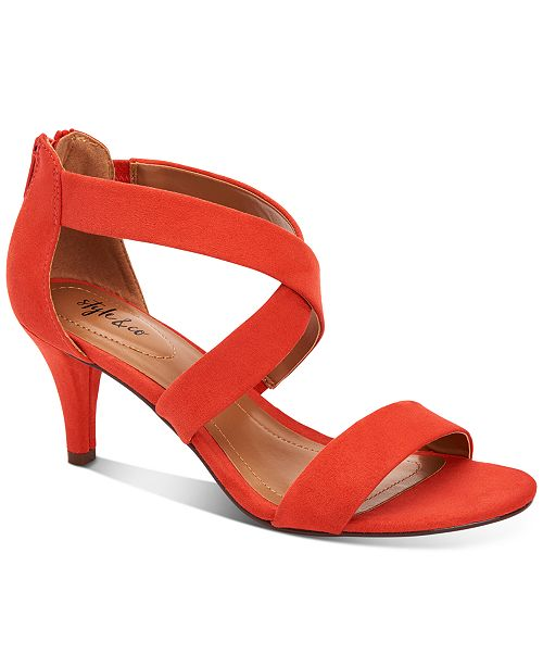Style & Co Paysonn Dress Sandals, Created for Macys