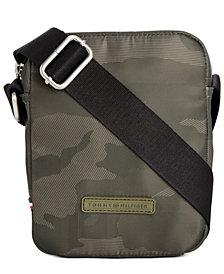 Tommy Hilfiger Men's Alexander Camo Mini Reporter Bag